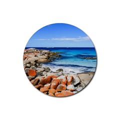 BAY OF FIRES Rubber Coaster (Round)