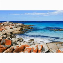 BAY OF FIRES Collage 12  x 18