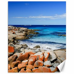 BAY OF FIRES Canvas 11  x 14