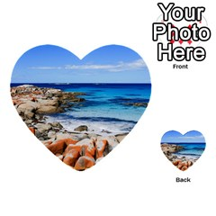 BAY OF FIRES Multi-purpose Cards (Heart)