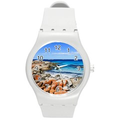 BAY OF FIRES Round Plastic Sport Watch (M)