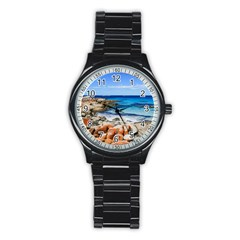 BAY OF FIRES Stainless Steel Round Watches