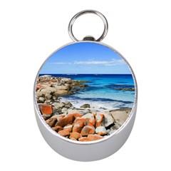 BAY OF FIRES Mini Silver Compasses