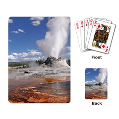 YELLOWSTONE CASTLE Playing Card