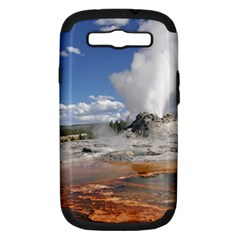 YELLOWSTONE CASTLE Samsung Galaxy S III Hardshell Case (PC+Silicone)