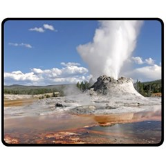 YELLOWSTONE CASTLE Double Sided Fleece Blanket (Medium)