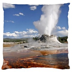 YELLOWSTONE CASTLE Large Flano Cushion Cases (Two Sides)