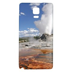 YELLOWSTONE CASTLE Galaxy Note 4 Back Case