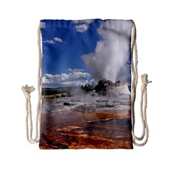 Yellowstone Castle Drawstring Bag (small)