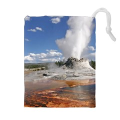 Yellowstone Castle Drawstring Pouches (extra Large)