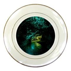 WAITOMO GLOWWORM Porcelain Plates