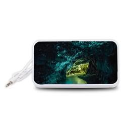 WAITOMO GLOWWORM Portable Speaker (White)