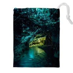 WAITOMO GLOWWORM Drawstring Pouches (XXL)