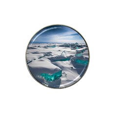 TURQUOISE ICE Hat Clip Ball Marker