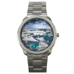 TURQUOISE ICE Sport Metal Watches