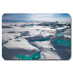 TURQUOISE ICE Large Doormat