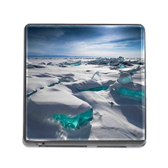 TURQUOISE ICE Memory Card Reader (Square)