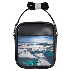 TURQUOISE ICE Girls Sling Bags