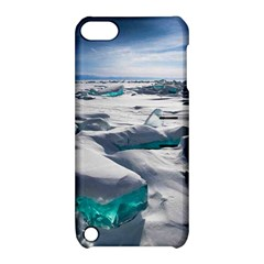 TURQUOISE ICE Apple iPod Touch 5 Hardshell Case with Stand