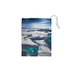 TURQUOISE ICE Drawstring Pouches (XS)