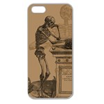 Vintage Skeletons Apple Seamless iPhone 5 Case (Clear) Front
