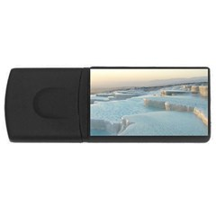TRAVERTINE POOLS USB Flash Drive Rectangular (2 GB)