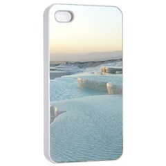 TRAVERTINE POOLS Apple iPhone 4/4s Seamless Case (White)