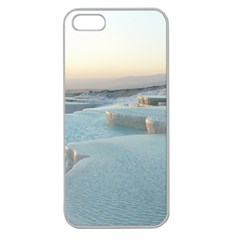 TRAVERTINE POOLS Apple Seamless iPhone 5 Case (Clear)