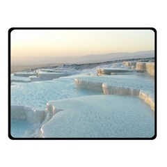 TRAVERTINE POOLS Double Sided Fleece Blanket (Small)