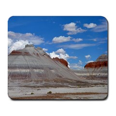PETRIFIED FORREST TEPEES Large Mousepads