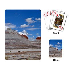 PETRIFIED FORREST TEPEES Playing Card