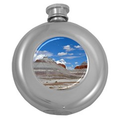 PETRIFIED FORREST TEPEES Round Hip Flask (5 oz)