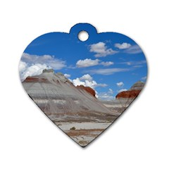PETRIFIED FORREST TEPEES Dog Tag Heart (One Side)