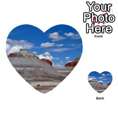 PETRIFIED FORREST TEPEES Multi-purpose Cards (Heart)