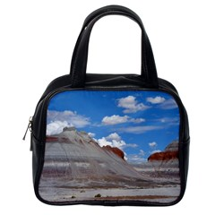 PETRIFIED FORREST TEPEES Classic Handbags (One Side)