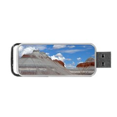 PETRIFIED FORREST TEPEES Portable USB Flash (Two Sides)