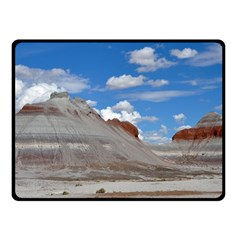 PETRIFIED FORREST TEPEES Double Sided Fleece Blanket (Small)