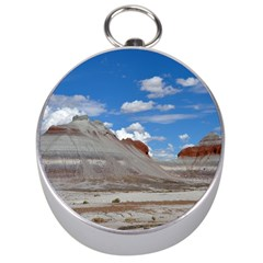 PETRIFIED FORREST TEPEES Silver Compasses