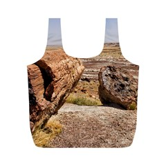 PETRIFIED DESERT Full Print Recycle Bags (M)