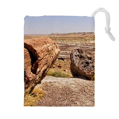 Petrified Desert Drawstring Pouches (extra Large)