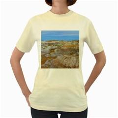 PAINTED DESERT Women s Yellow T-Shirt
