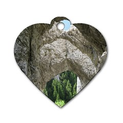 LIMESTONE FORMATIONS Dog Tag Heart (Two Sides)