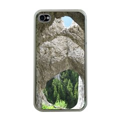 LIMESTONE FORMATIONS Apple iPhone 4 Case (Clear)