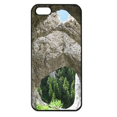 LIMESTONE FORMATIONS Apple iPhone 5 Seamless Case (Black)