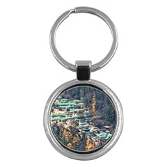 HUANGLONG POOLS Key Chains (Round)