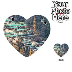 Huanglong Pools Playing Cards 54 (heart)