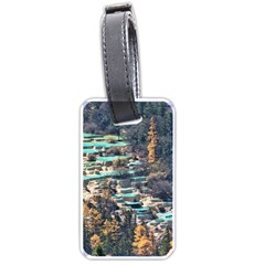 HUANGLONG POOLS Luggage Tags (Two Sides)