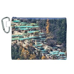 HUANGLONG POOLS Canvas Cosmetic Bag (XL)