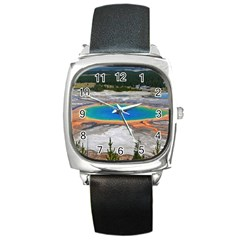 GRAND PRISMATIC Square Metal Watches