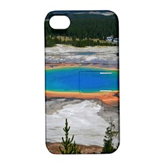 Grand Prismatic Apple Iphone 4/4s Hardshell Case With Stand